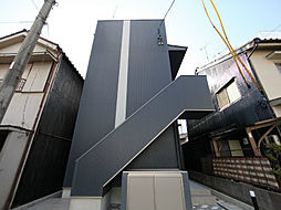 愛知県名古屋市中川区三ツ池町2の賃貸アパートの外観