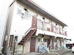 大阪府寝屋川市河北中町の賃貸アパートの外観