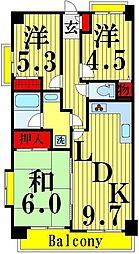 仮称)谷在家マンション[2階]の間取り
