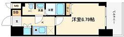 KDXレジデンス難波南[2階]の間取り