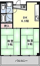 ハウスS&Y[306号室号室]の間取り