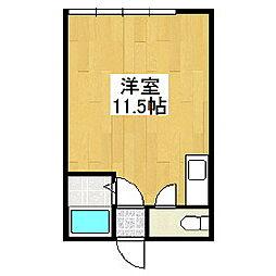 ハイツリバーサイド2[1階]の間取り