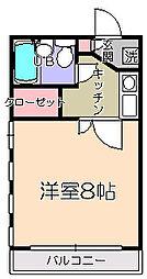 ドルフ202階Fの間取り画像