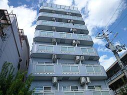 カプコン北田辺[3階]の外観