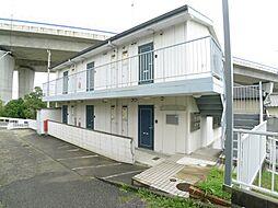岡松ハイツ[2階]の外観