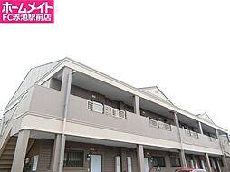 愛知県日進市岩崎台2丁目の賃貸アパートの外観