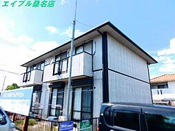 三重県桑名市東正和台2丁目の賃貸アパートの外観