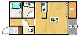(仮称)プラリア新之栄[101号室]の間取り