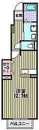 クリプトメリア アヴェニュー[1階]の間取り