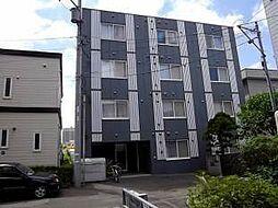 北海道札幌市豊平区平岸二条1丁目の賃貸マンションの外観