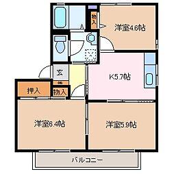 パークホーム青山 C棟[2階]の間取り