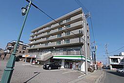 静岡県湖西市鷲津の賃貸マンションの外観