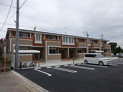 外観,1LDK,面積45.77m2,賃料5.2万円,JR常磐線 友部駅 徒歩11分,,茨城県笠間市八雲