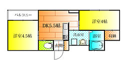 Domani[4階]の間取り