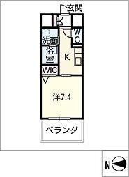 仮)東区泉三丁目計画[13階]の間取り
