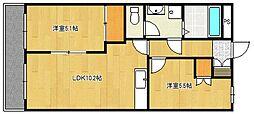 サニーデイズハイム[2階]の間取り
