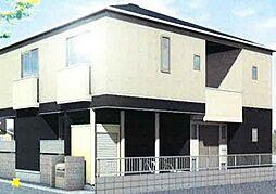 岡山県岡山市北区富町1丁目の賃貸アパートの外観