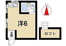 奈良県奈良市中山町西4丁目の賃貸マンションの間取り