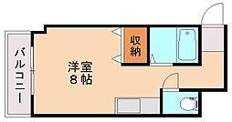 レナジア横田[4階]の間取り
