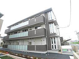 埼玉県三郷市中央3丁目の賃貸アパートの外観