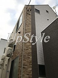 東京都北区東十条6丁目の賃貸アパートの外観