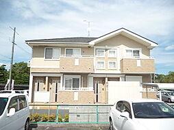 滋賀県甲賀市水口町虫生野中央の賃貸アパートの外観