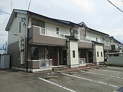 富山県富山市太田の賃貸アパートの外観
