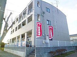 茨城県龍ケ崎市長山6丁目の賃貸マンションの外観