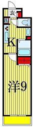 クリスタルコート[3階]の間取り