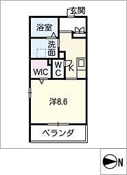 S・J casa[1階]の間取り