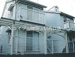 岡山県岡山市北区谷万成1の賃貸アパートの外観