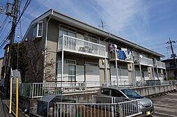 千葉県松戸市松飛台の賃貸アパートの外観