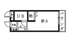 ハートフル青山[106号室号室]の間取り