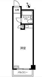 横浜大通り公園ハイツ[304号室]の間取り