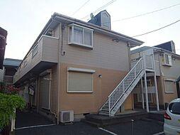 埼玉県越谷市千間台西1丁目の賃貸アパートの外観