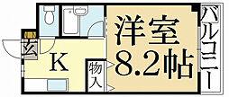 エルム33[2階]の間取り