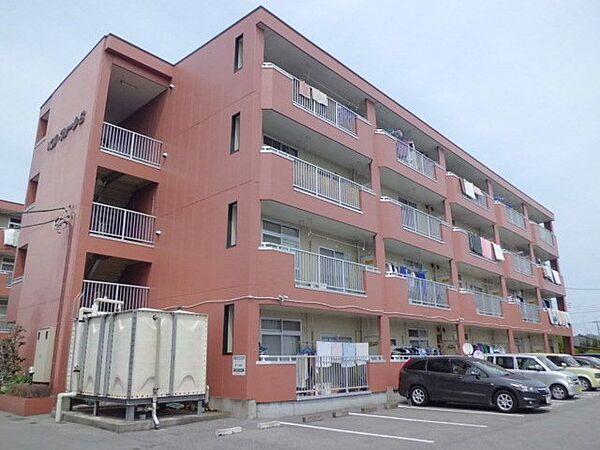 ベルフォーレA・B[2階]の外観