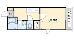 KANDA[1階]の間取り