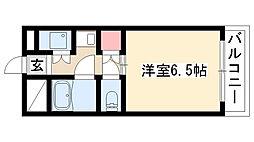 愛知県名古屋市瑞穂区雁道町2丁目の賃貸マンションの間取り