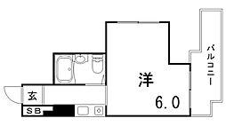 アルテハイム神戸・県庁前[8階]の間取り