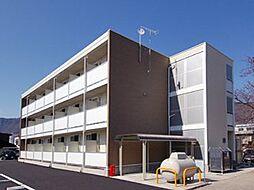 長野県上田市常磐城3丁目の賃貸アパートの外観