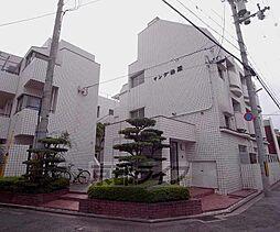 京都府京都市左京区吉田上阿達町の賃貸マンションの外観