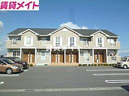 三重県多気郡明和町大字馬之上の賃貸アパートの外観