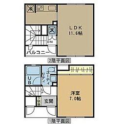 サンステージ御器所[2階]の間取り