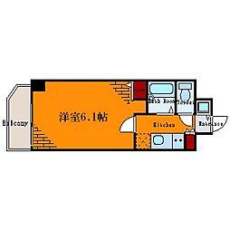 ル・リオン菊川II[6階]の間取り