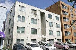 北海道札幌市白石区栄通19丁目の賃貸マンションの外観