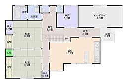 新栄町貸家 2階6SLDKの間取り