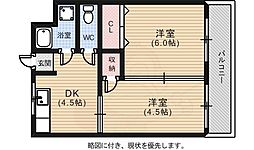 観音町駅 4.2万円