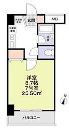 F-GRANDE[6階]の間取り
