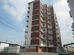愛媛県松山市山越4丁目の賃貸マンションの外観